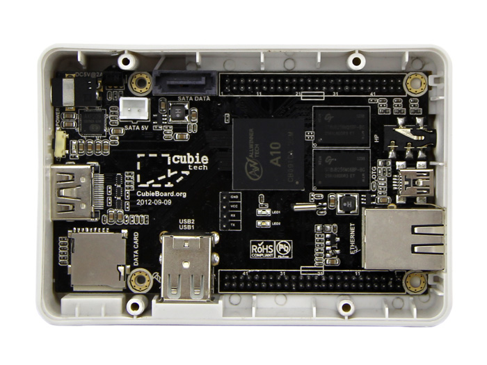 Black-and-white Enclosure for Cubieboard
