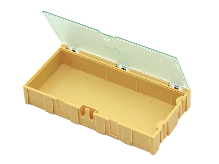 Extra Large Size Components Storage Box - 2 PCs per lot - Yellow