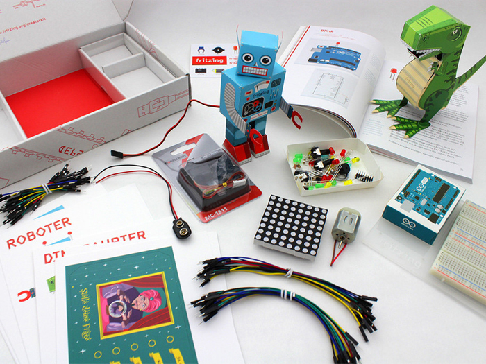 Fritzing Creator Kit with Arduino UNO English Edition