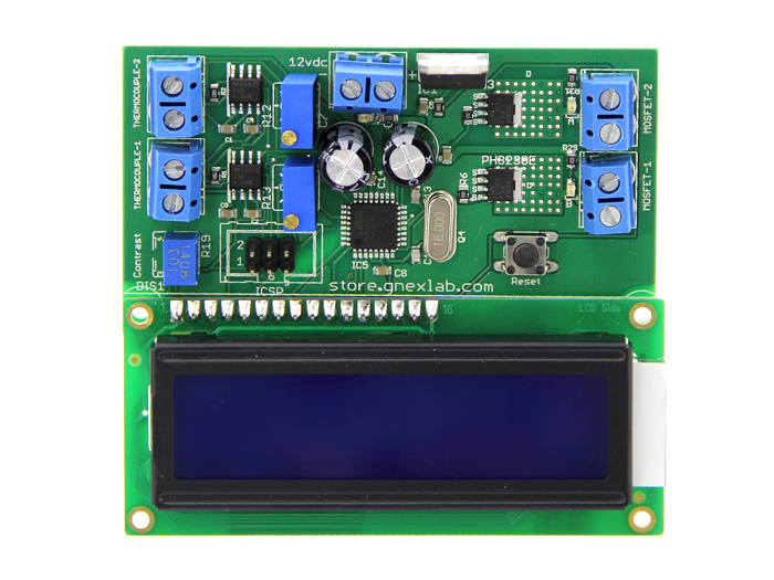 EXTRUDER CONTROLLER(2 THERMOCOUPLE TYPE)