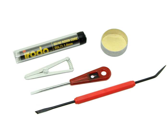 Cordless Battery - Battery powered Soldering Iron Kit