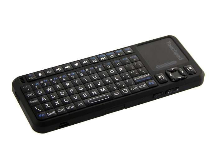 Mini Wireless Keyboard and Touchpad Mouse - Rechargeable
