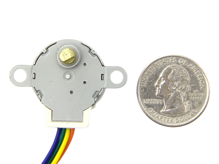 Small size and high torque stepper motor 24byj48 for Very small stepper motor