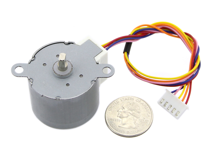 Small size and high torque stepper motor 35byj412 for Stepper motor step size