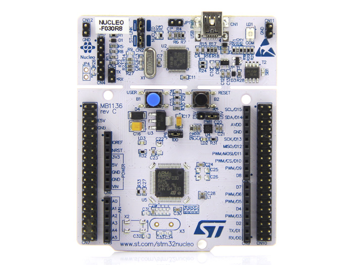 NUCLEO F030R8 - Development Board for STM32