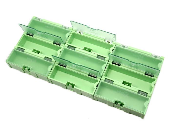 Medium Size Components Storage Box - 5 PCs per lot - Green