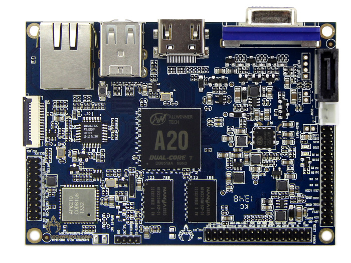 PhoenixA20 - First ARM A7 Pico-ITX board