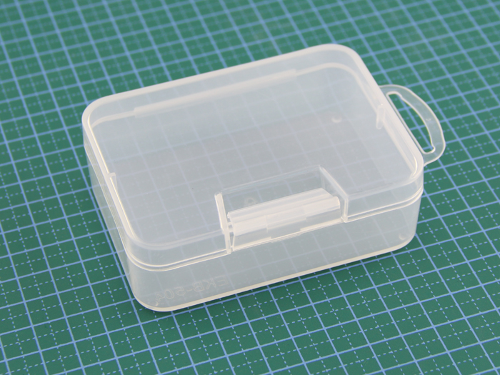 Plastic storage box - transparent