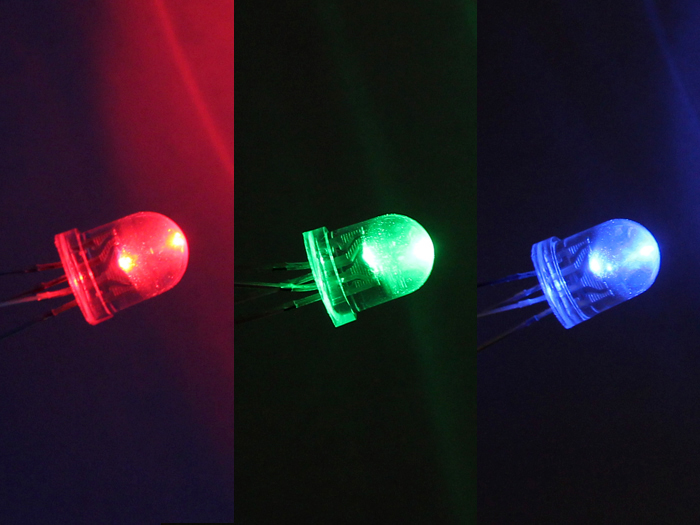 8mm RGB Led lamp common Cathode (10 PCs)