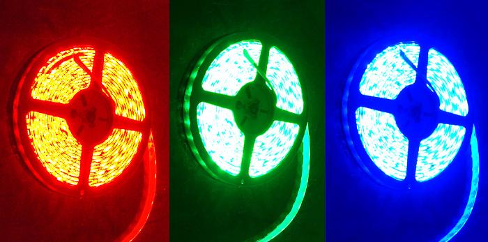 Flexible Waterproof LED Strip - RGB