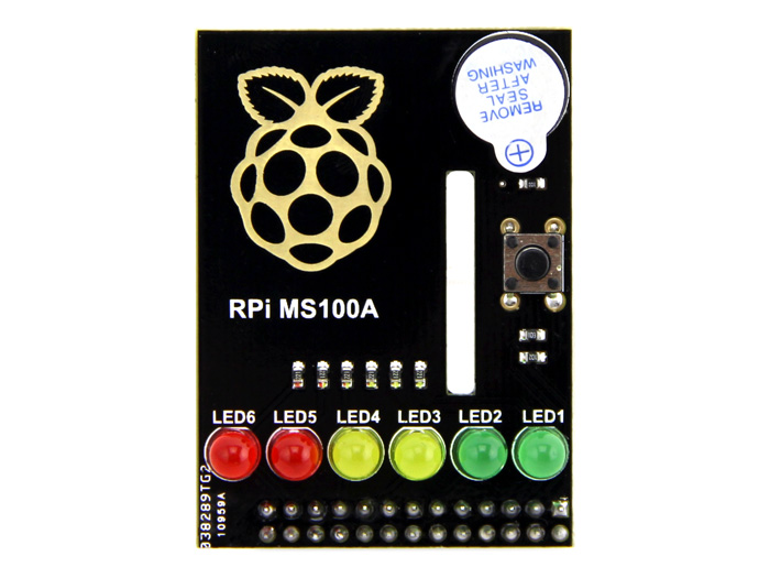 Raspberry Pi LED and Buzzer Add-on Boards
