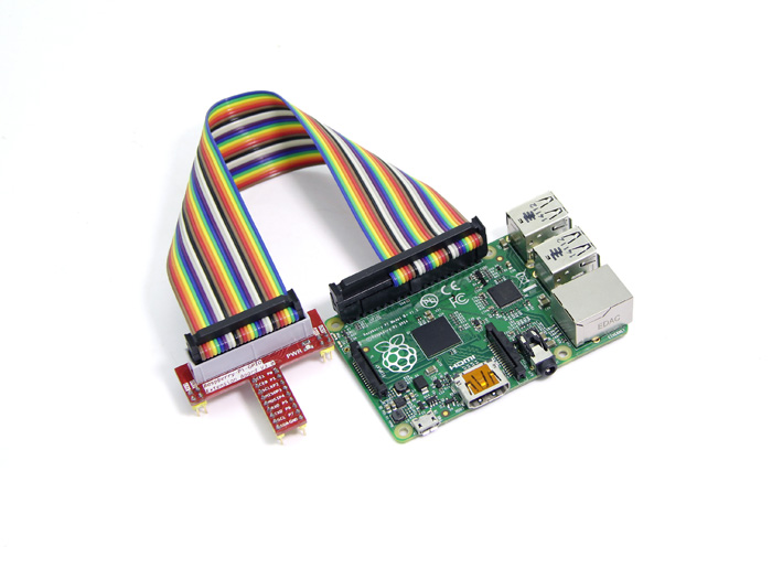 Raspberry Pi A+&B+&2 40pin to 26pin Cable