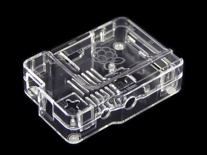Raspberry Pi Clear PS Enclosure