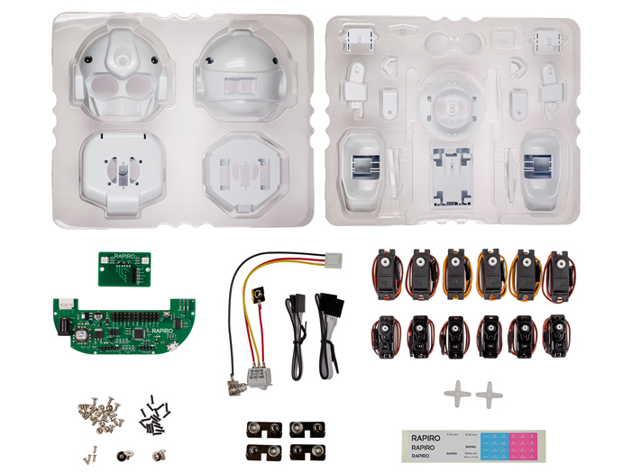 RAPIRO - DIY Model Robot Kit