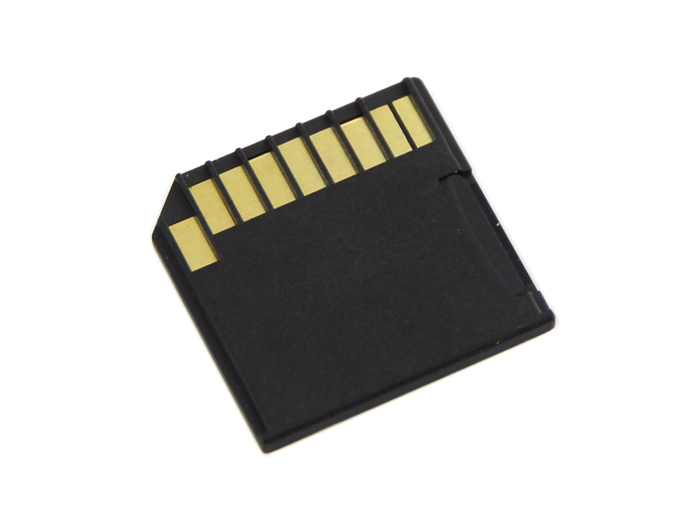 Micro SD Card Adapter for Raspberry & Macbooks - Black