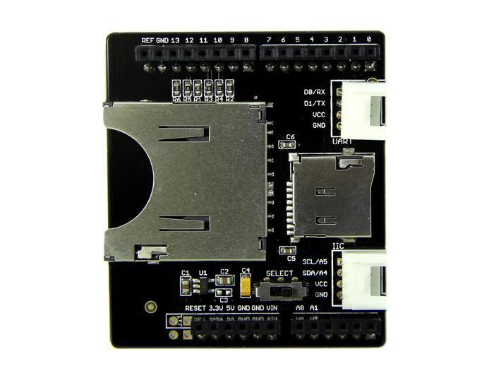 sd card shield wireless seeed studio sd card shield