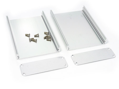 Aluminium Case for small projects - 113*70*25 (mm)