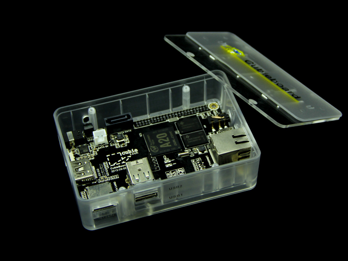 Semitransparent Enclosure for Cubieboard