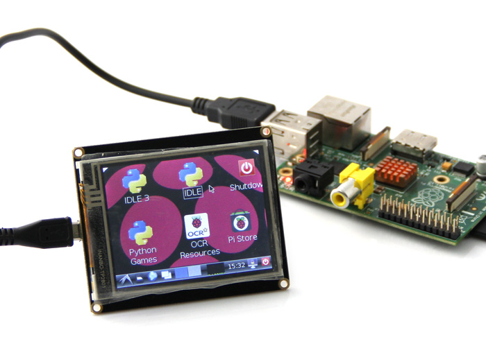 2.8 Inch USB TFT Display Module For Raspberry Pi