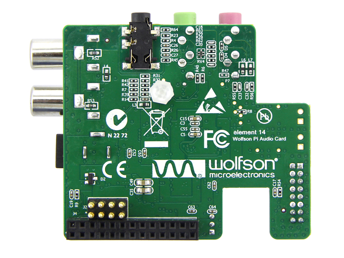 Wolfson Audio Card