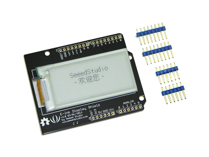 2.04 E-Ink Display Shield
