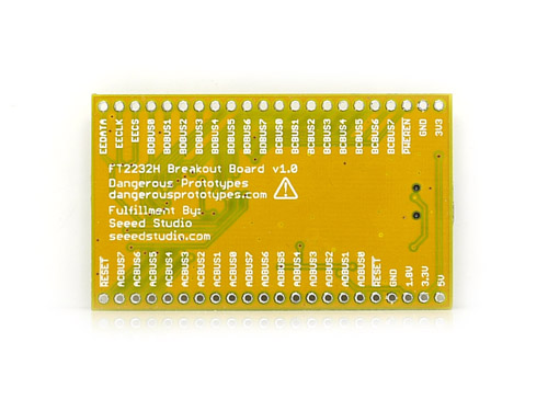 FT2232H USB 2.0 Hi-Speed breakout board