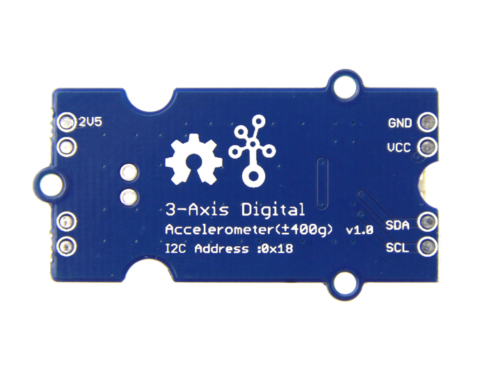 Grove - 3-Axis Digital Accelerometer(±400g)
