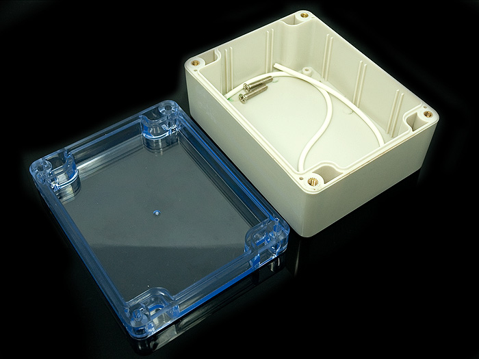 Clear Plastic Enclosure 55x90x115mm