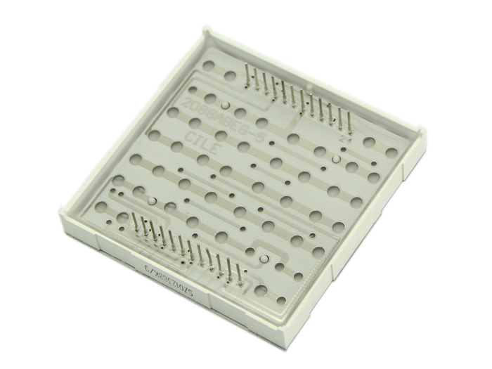 60mm square 8*8 LED Matrix - Bi-Color Red(Green)