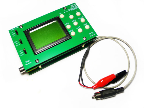 Digital Storage Oscilloscope DIY Kit with Panels