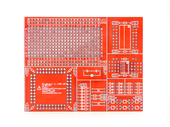 QFP surface mount protoboard - 0.65mm