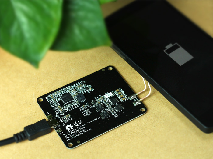Qi Wireless Charger Transmitter - 5V&1A