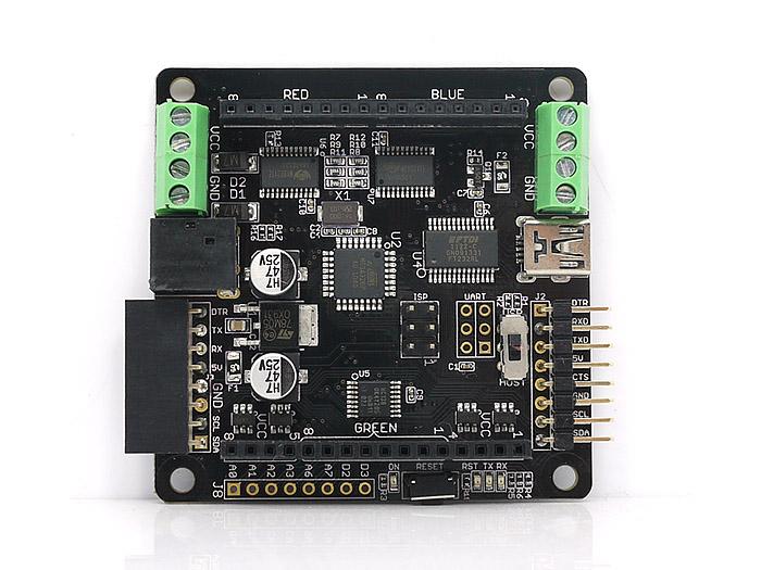 Rainbowduino LED driver platform - Atmega 328