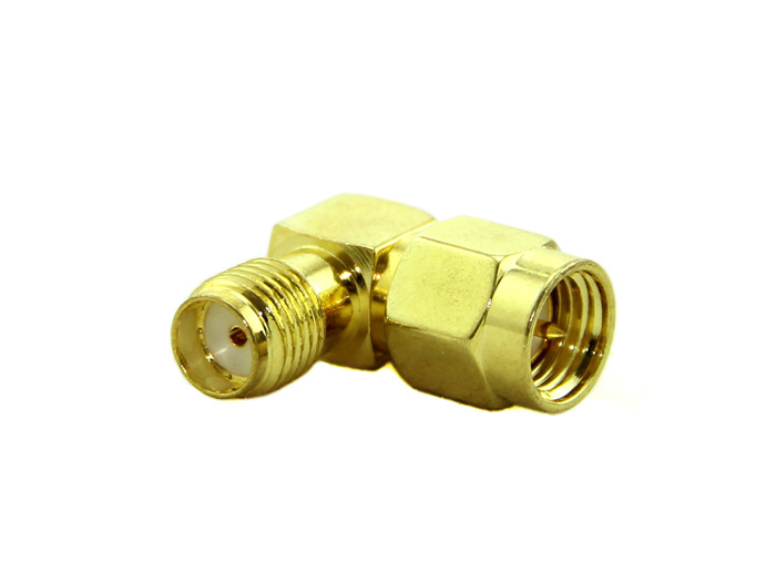 SMA adapter SMA Plug to SMA Jack right angle