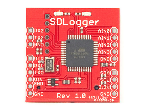 SDLogger - Open Hardware Data Logger