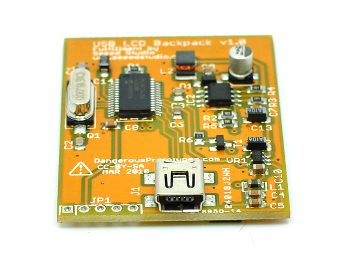 USB controller for Nokia color LCD