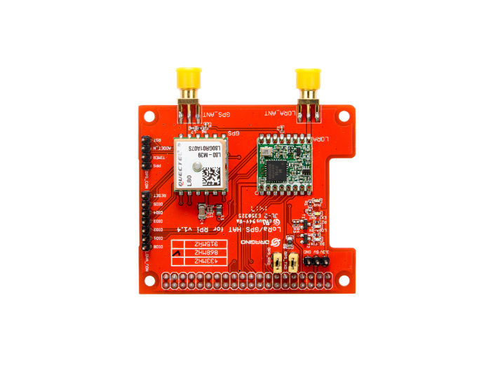 Raspberry Pi LoRa/GPS HAT - support 868M frequency