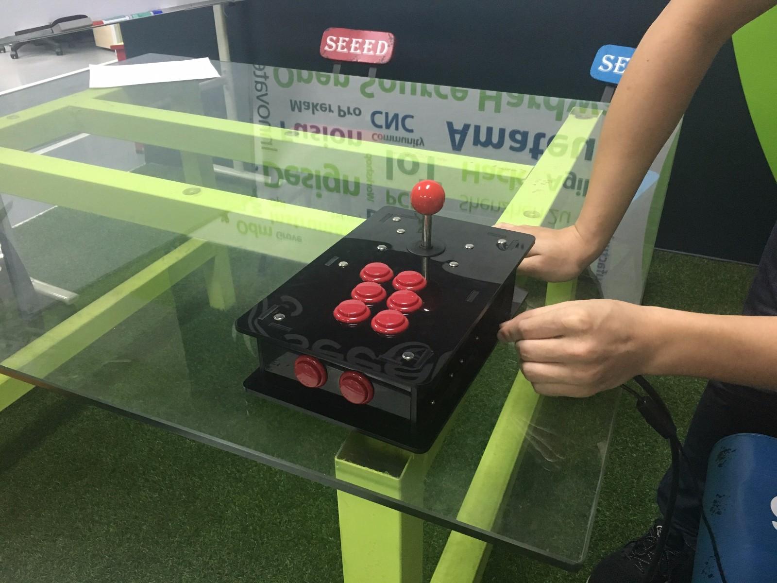 Unpack the Raspberry Pi Acrylic DIY Retro Game Arcade Kit