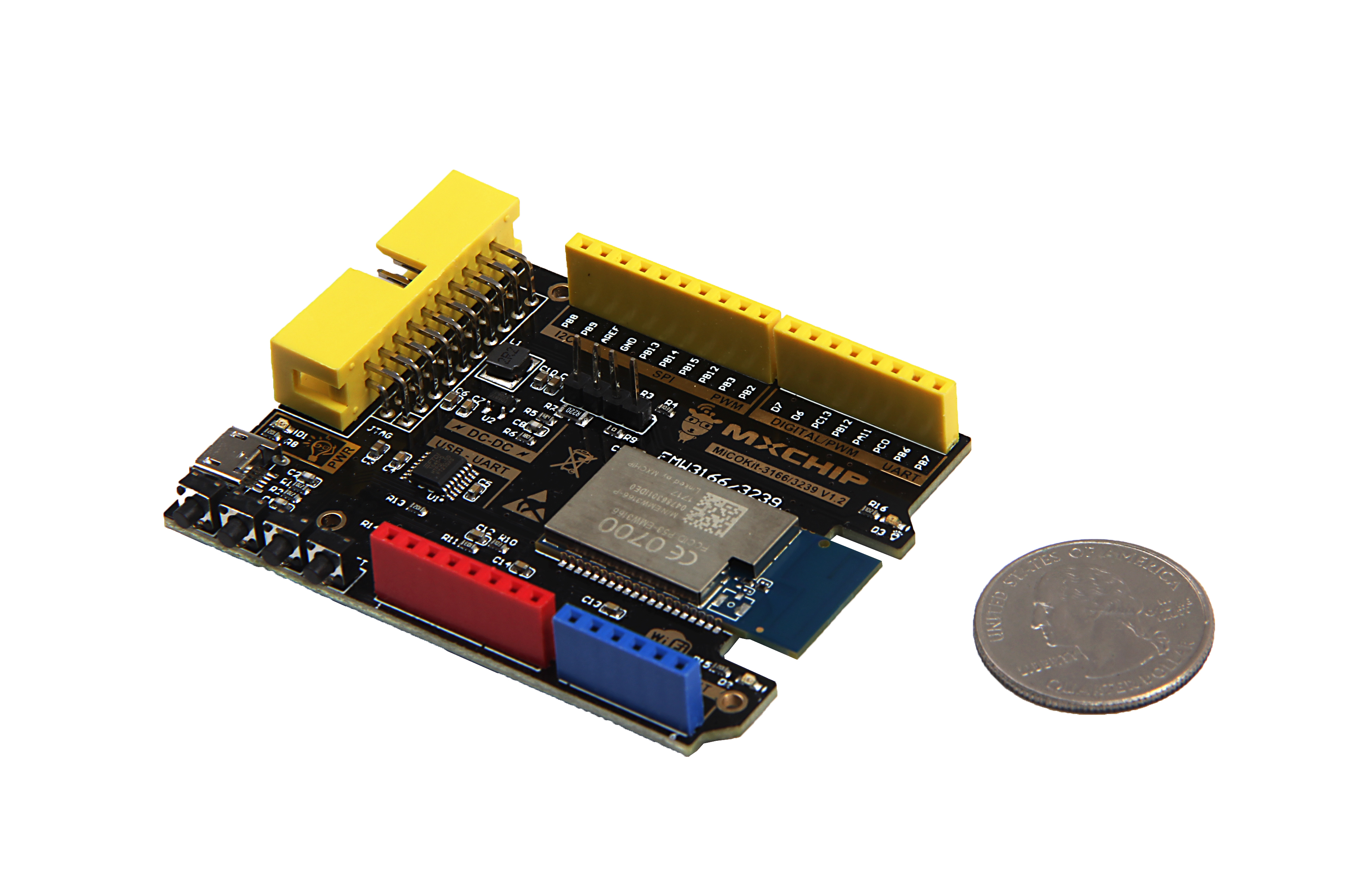 MiCOKit-3166 Development Board