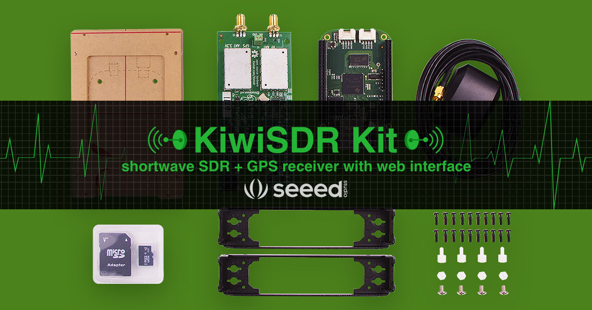 KiwiSDR :Software radio system based on Xilinx Artix-7- Seeed cc