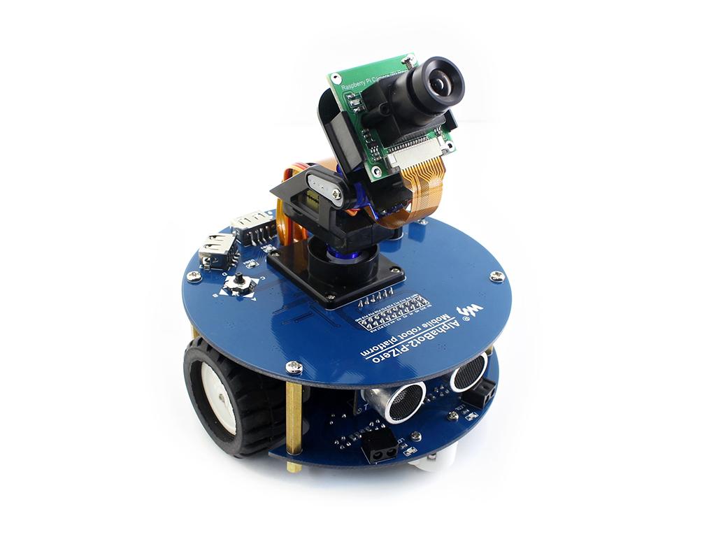 AlphaBot2 robot building kit for Raspberry Pi Zero/Zero W (no Pi)