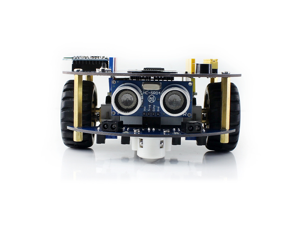AlphaBot2 robot building kit for Arduino (no Arduino controller)