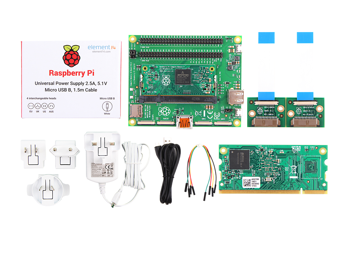 Raspberry Pi Compute Module 3 Dev Kit - Seeed Studio
