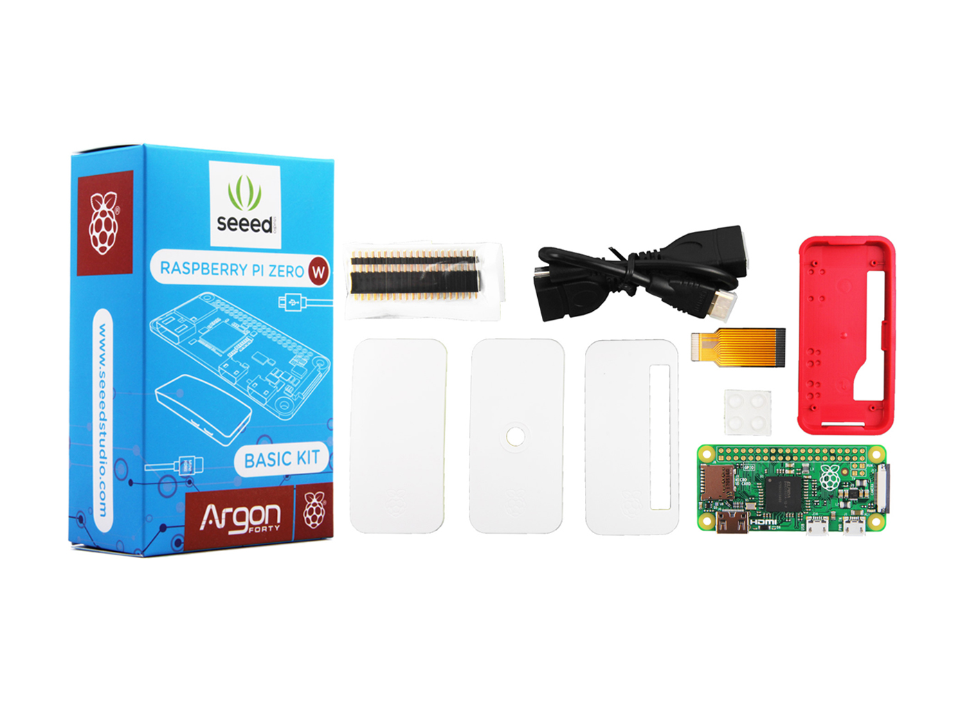 Seeedstudio Raspberry Pi Zero W Basic Kit