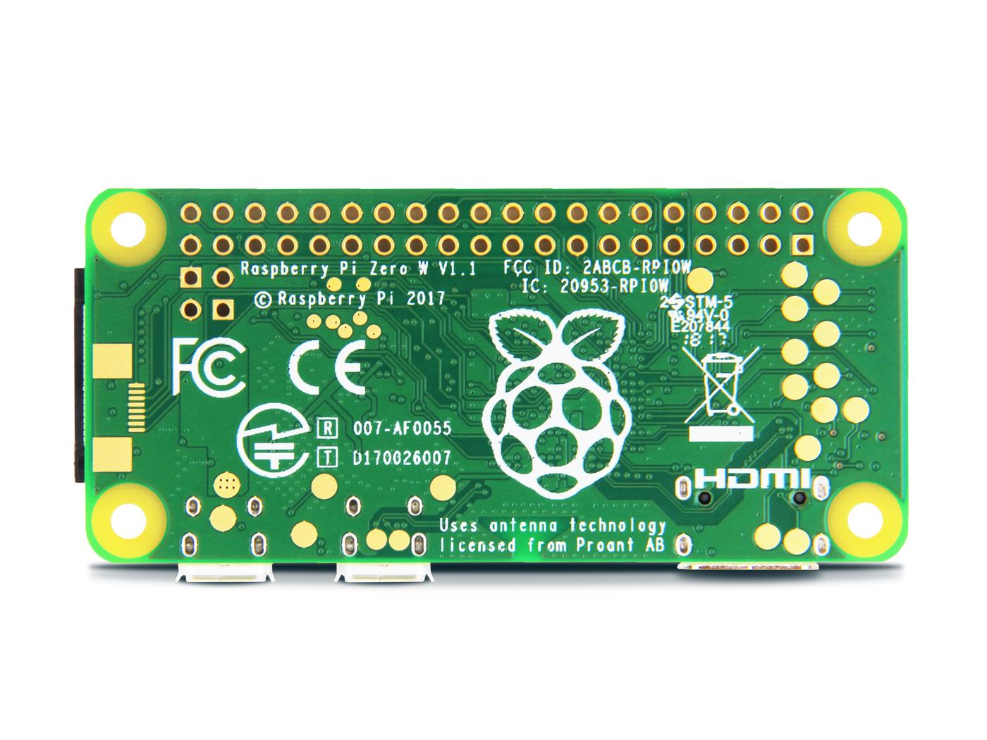 Seeedstudio Raspberry Pi Zero W Barebones Kit