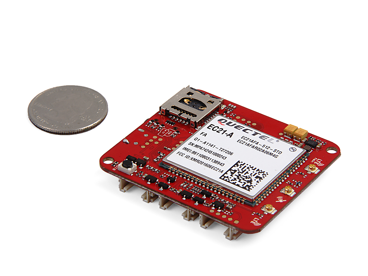 Wio LTE US Version - 4G, Cat.1, GNSS, JavaScript(Espruino) Compatible
