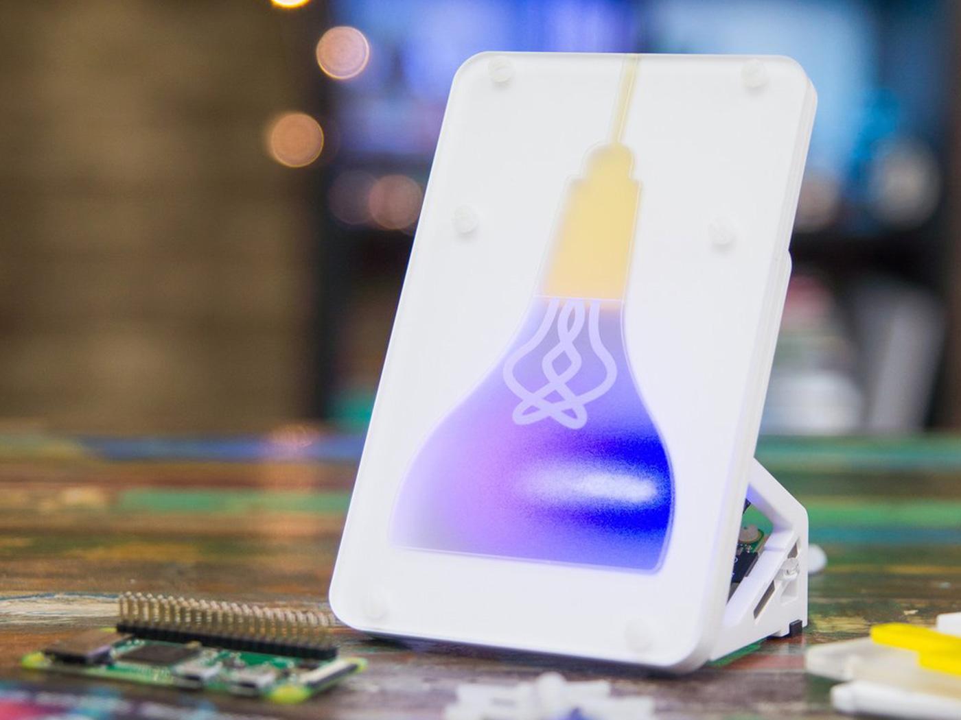 Pimoroni Mood Light - Pi Zero W Project Kit, internet-connected