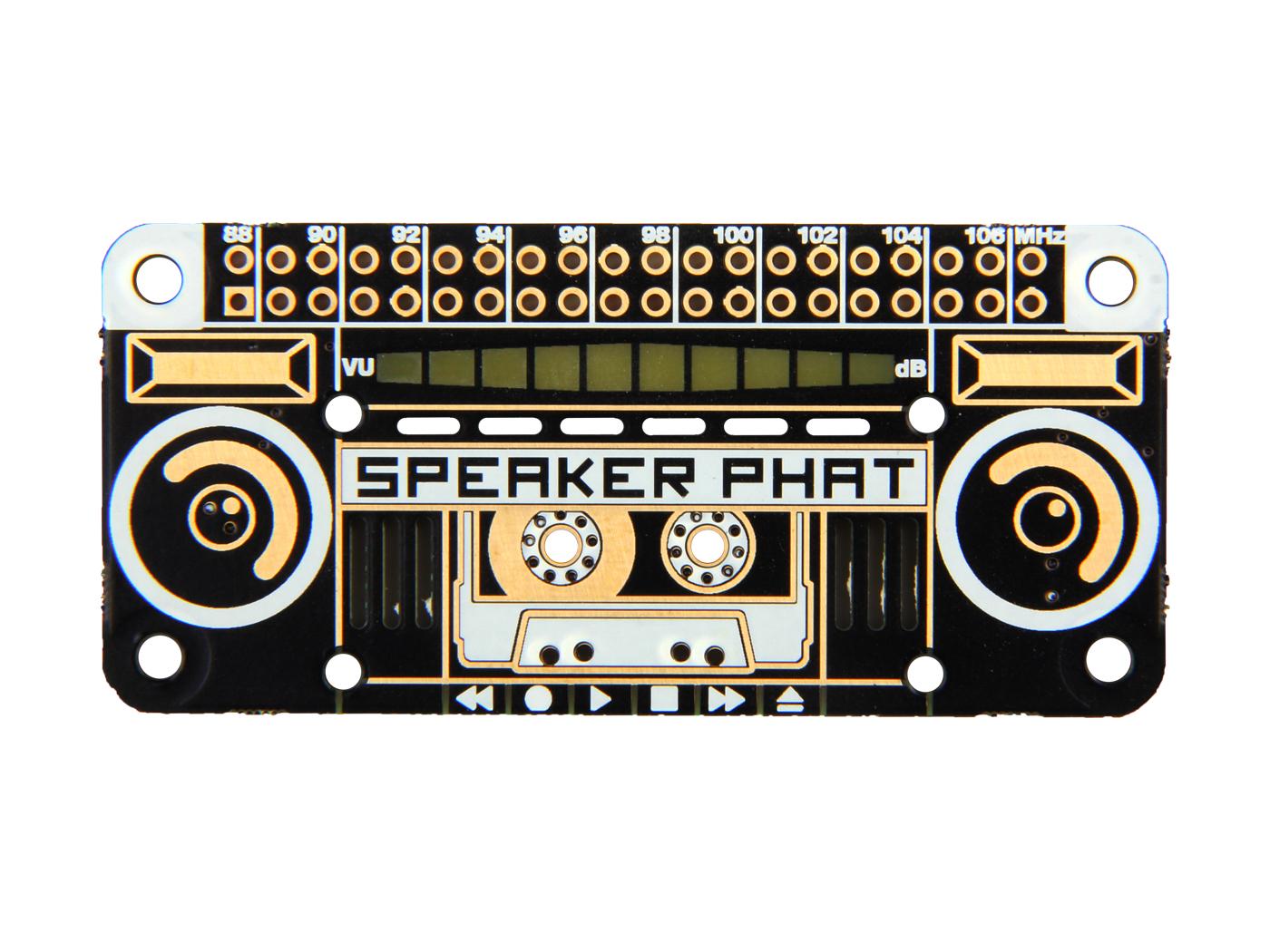 Grove Speaker Actuator Seeed Studio Plastic Smart Bracelet Bluetooth Circuit Board With High Pimoroni Phat