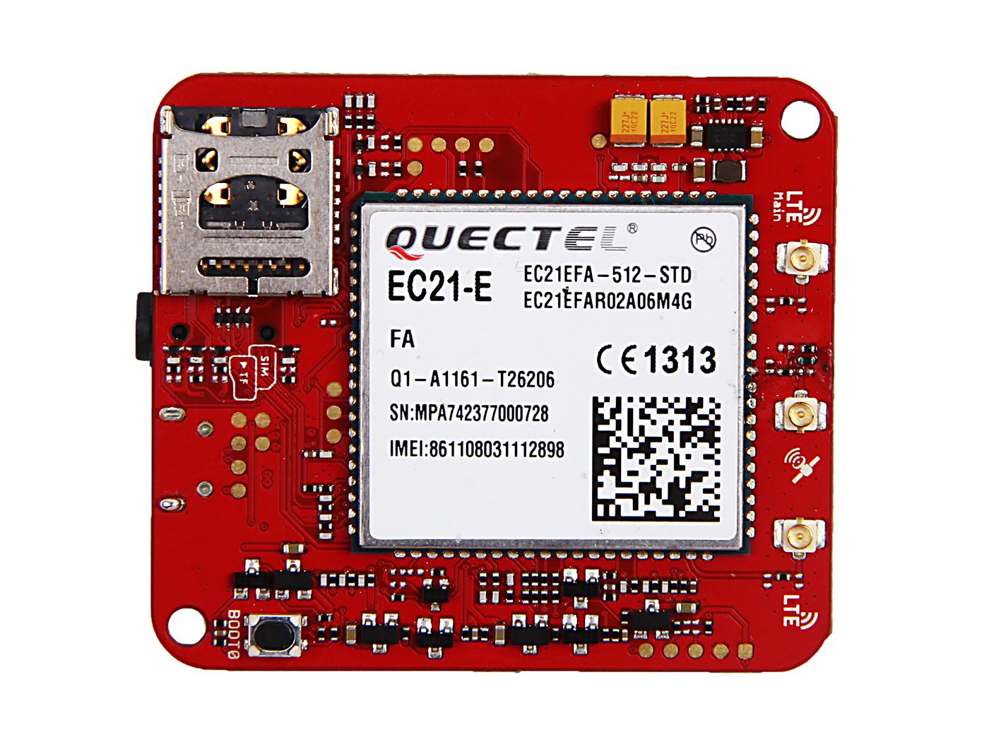 Wio LTE EU Version - 4G, Cat.1, GNSS, Espruino Compatible