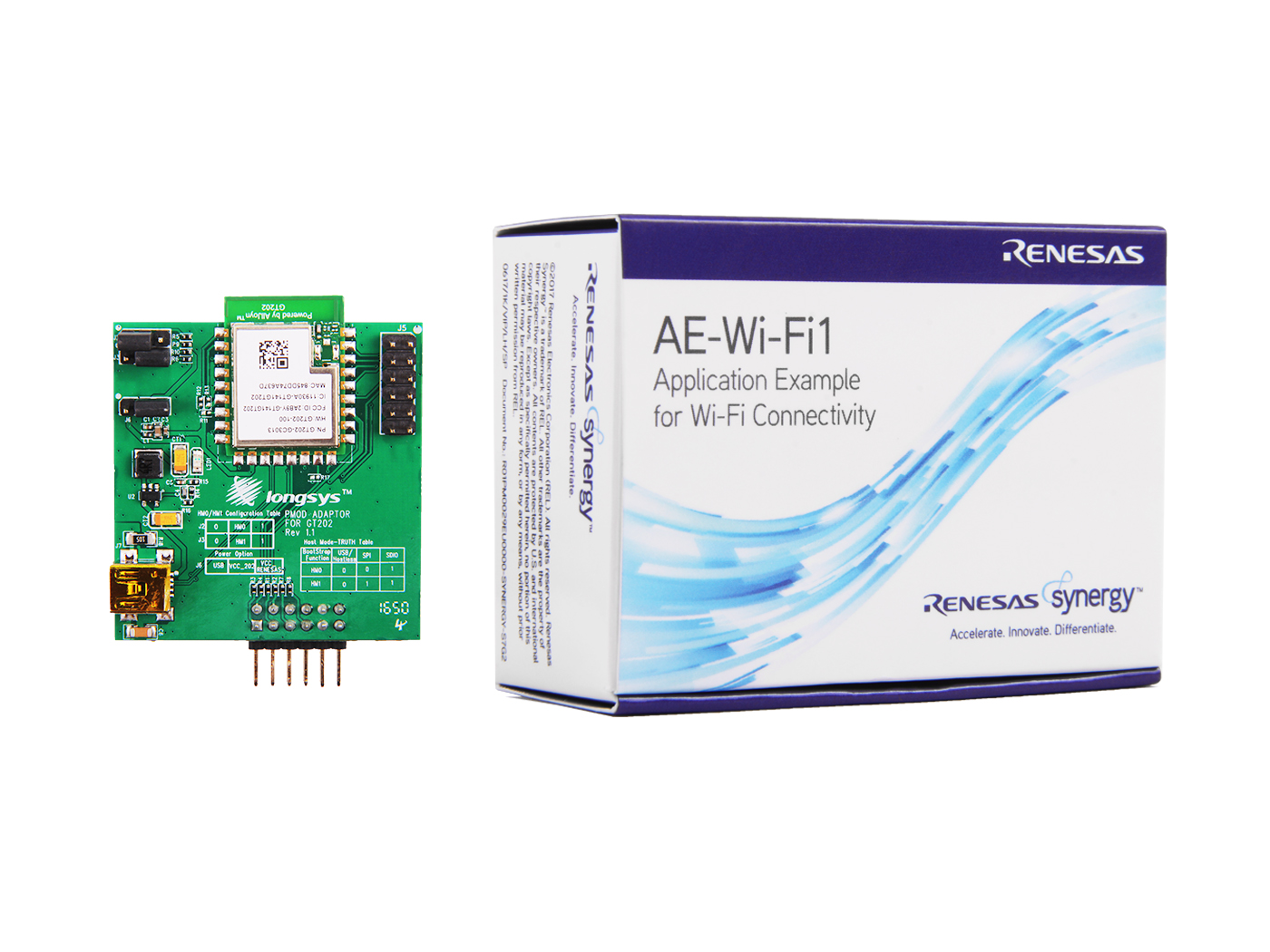 AE-Wi-Fi1 Application Example for Wi-Fi Connectivity